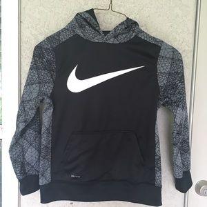 Nike hoodie boys size L